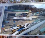 山田高校漕艇部の被災状況